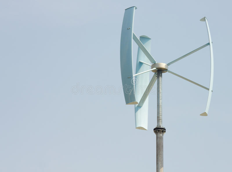 миниый ветер силы стоковое фото