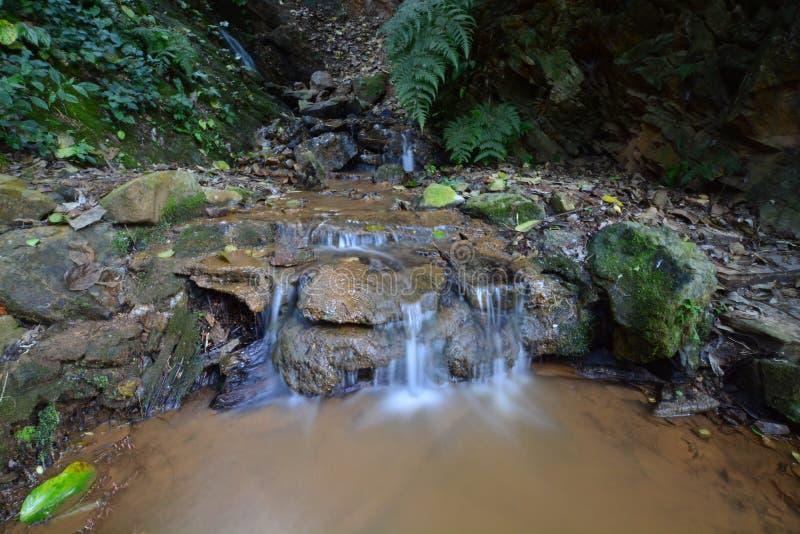 Миниый водопад стоковые изображения