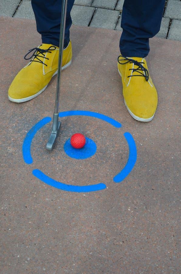 Мини гольф стоковая фотография rf