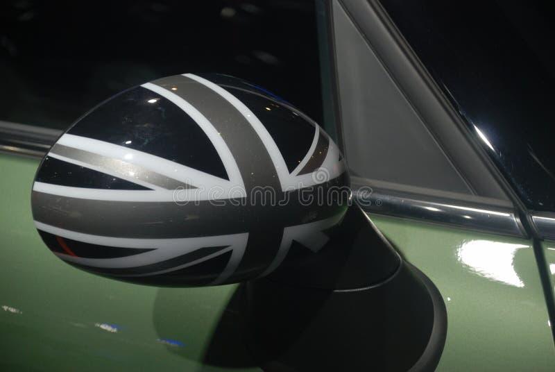 Мини зеркало крыла бондаря стоковое изображение rf