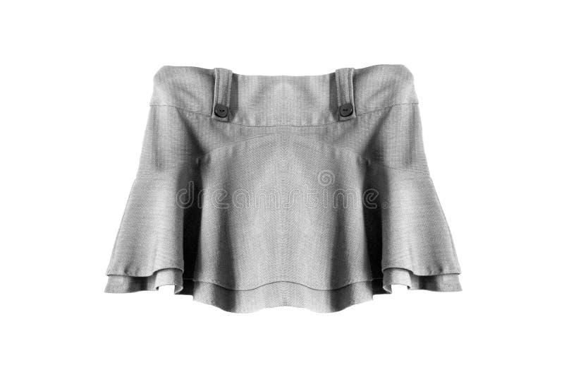 Мини изолированная юбка стоковые фото