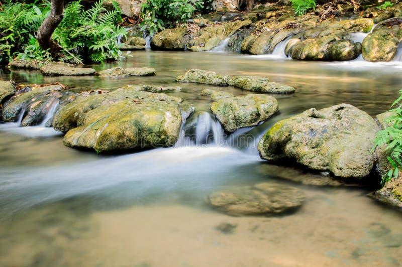 Мини кнопка водопада стоковые изображения