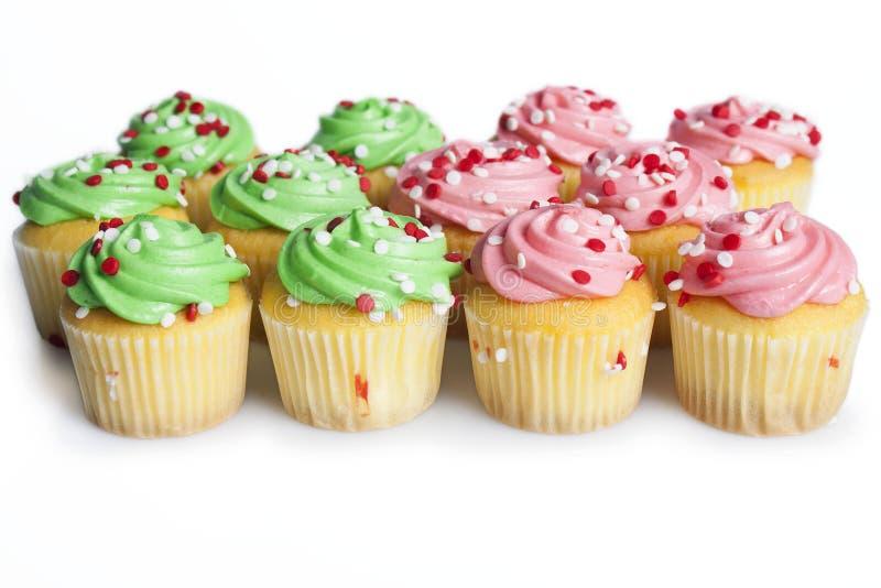 Мини пирожные стоковое изображение