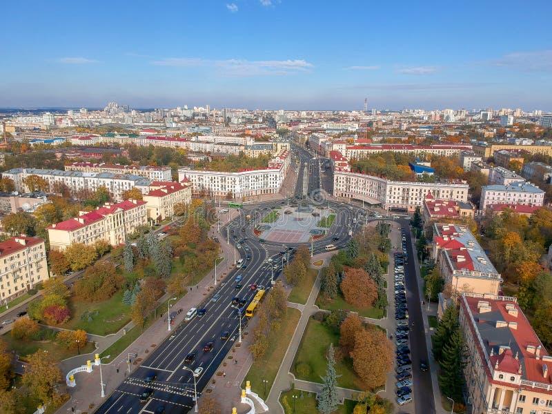 Минск, Беларусь стоковое фото rf