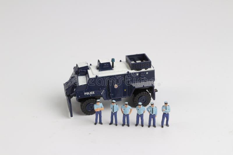 Минута полиции концепции безопасности людей стоковое фото