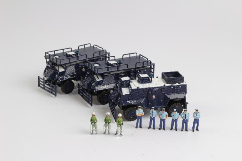 Минута полиции концепции безопасности людей стоковая фотография