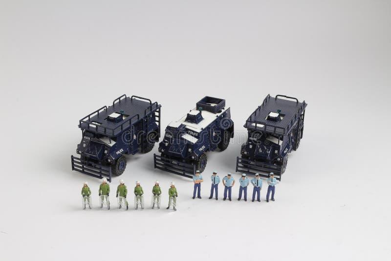Минута полиции концепции безопасности людей стоковое фото rf
