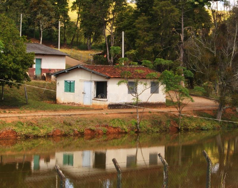 Мины Gerais Бразилии мин Gerais Бразилии мин Ouro Fino стоковые изображения rf