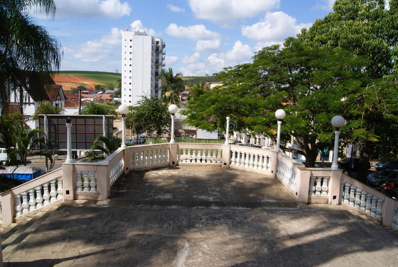 Мины Gerais Бразилии мин Jacutinga стоковые изображения rf
