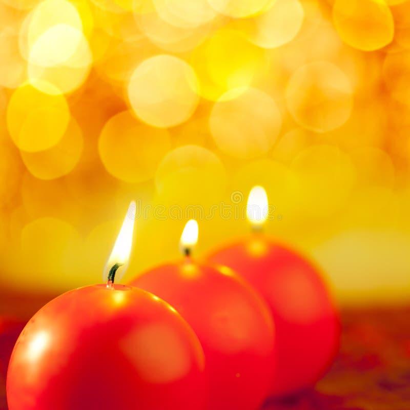миражирует форму рождества красную круглую стоковое изображение rf