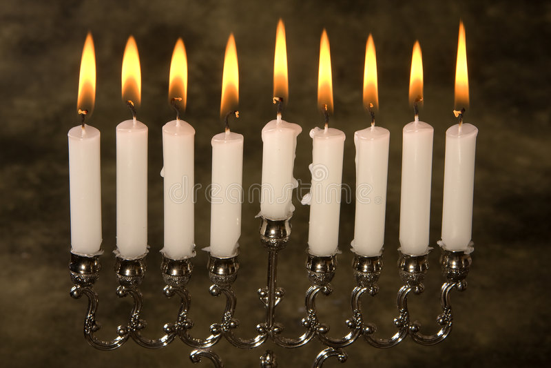 миражирует hanukkah стоковая фотография rf