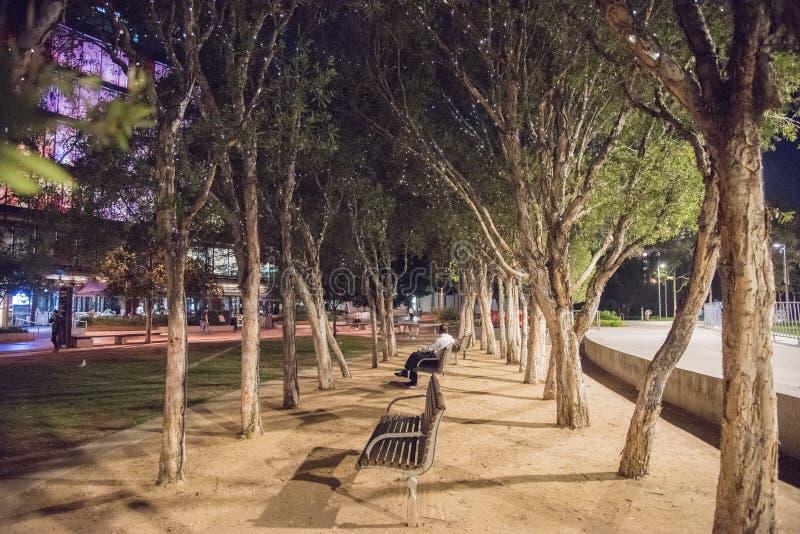 Мирная ноча на квартале милочки стоковое фото