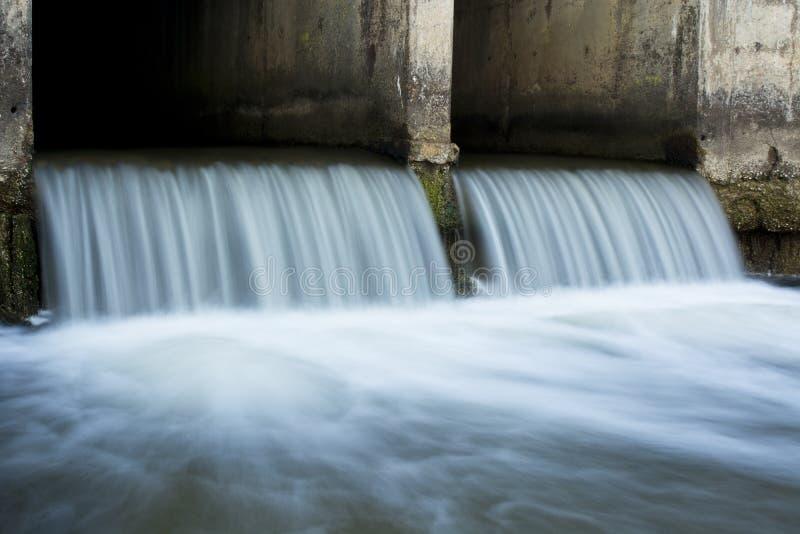 Мирный водосброс стоковая фотография rf