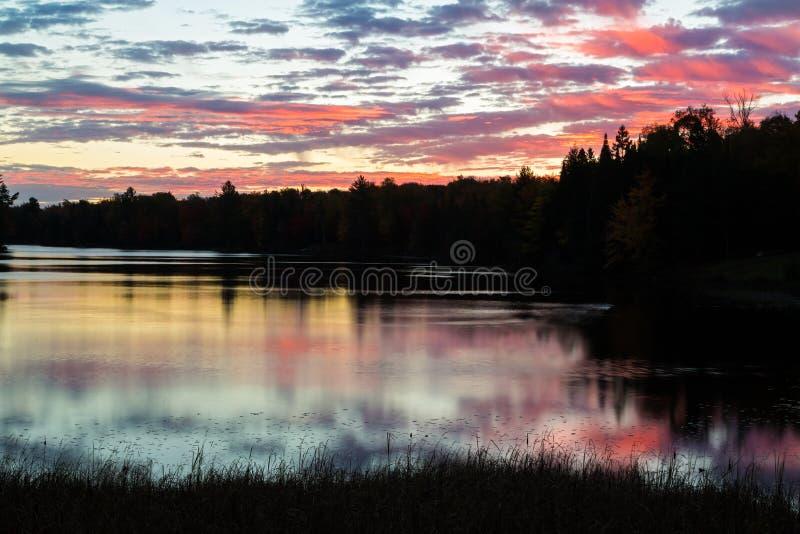 Мирный рассвет стоковое фото rf