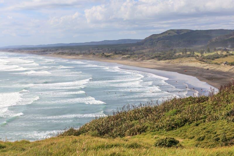 Мирный сценарный seascape, путешествуя назначение туризма стоковое фото rf
