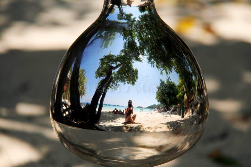 Мир внутри сферы стоковое изображение