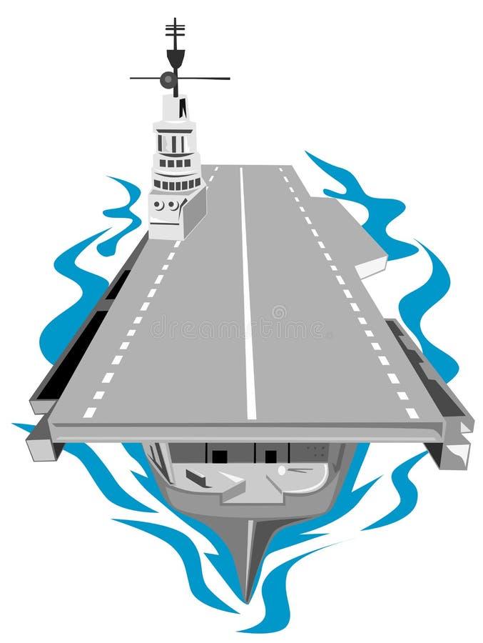 мир войны авианосца 2 иллюстрация штока
