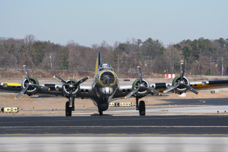 мир войны бомбардировщика 2 b17 стоковые изображения rf