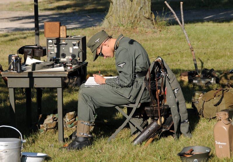 мир войны жизни эры ii лагеря стоковое изображение