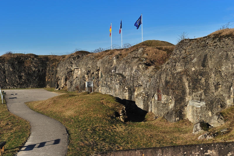 мир войны форта douaumont первый стоковая фотография rf