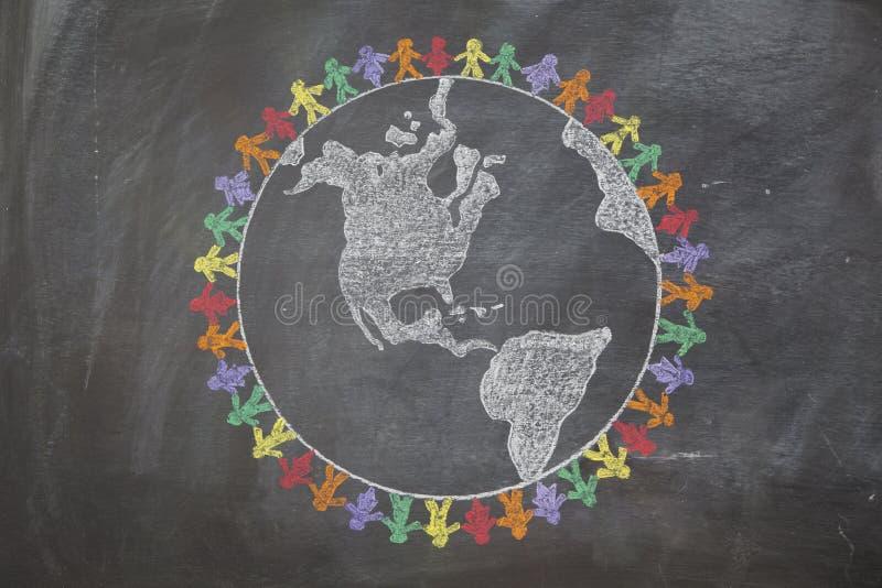 Мир вокруг мира стоковое изображение rf