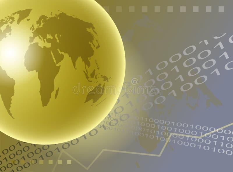 мир глобуса иллюстрация штока