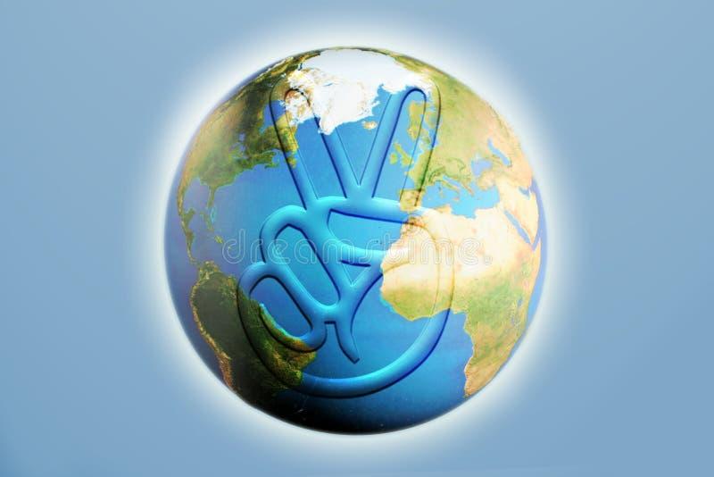 мир земли иллюстрация вектора