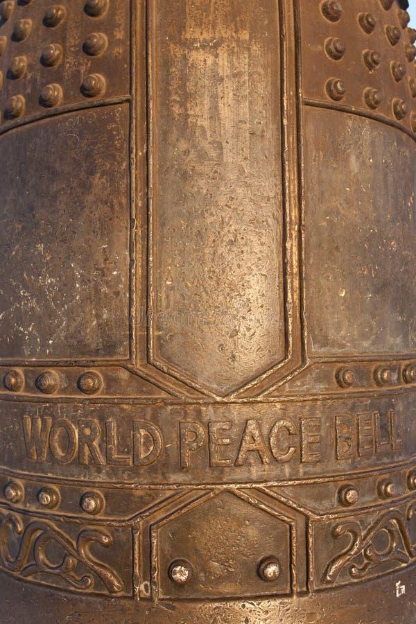 мир мира колокола стоковые фото