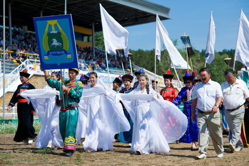 мир Монгол конвенции стоковое фото