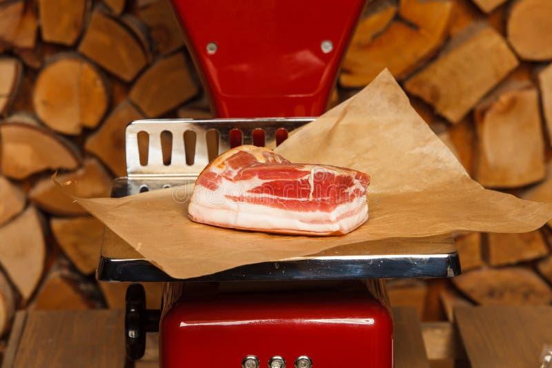 Мир мяса на красных масштабах стоковое фото