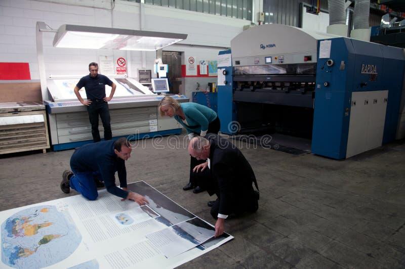 мир печати смещения атласа самый большой стоковые изображения rf