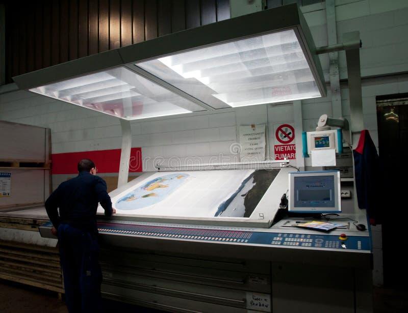 мир печати смещения атласа самый большой стоковое фото rf