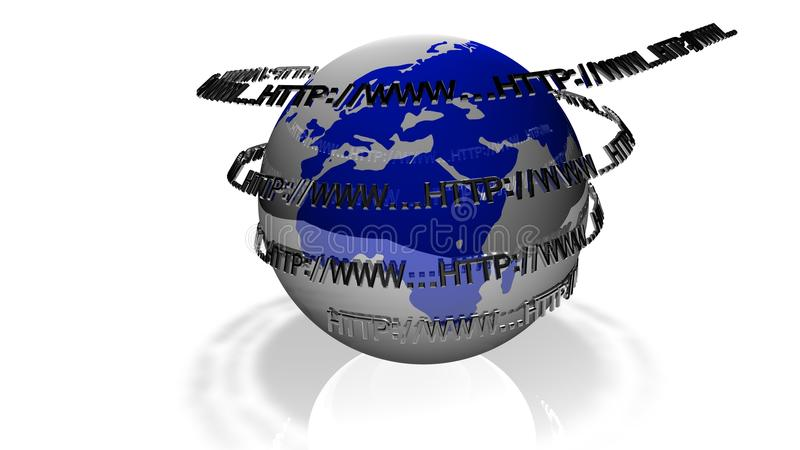 мир сети принципиальной схемы широкий иллюстрация штока