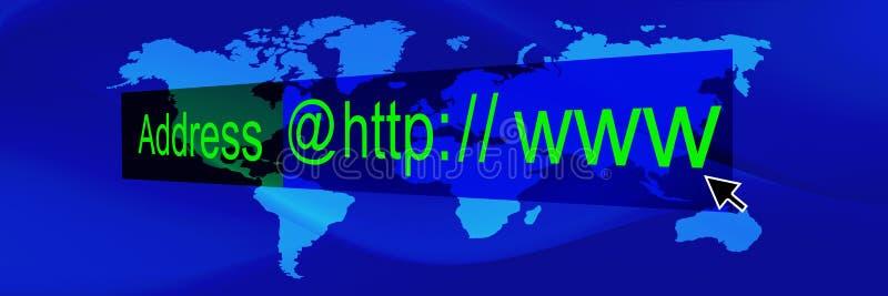 мир сини 3 знамен иллюстрация вектора