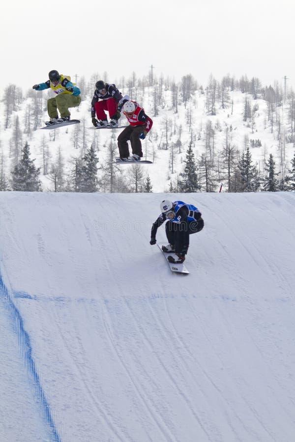 мир сноубординга чашки стоковые фотографии rf