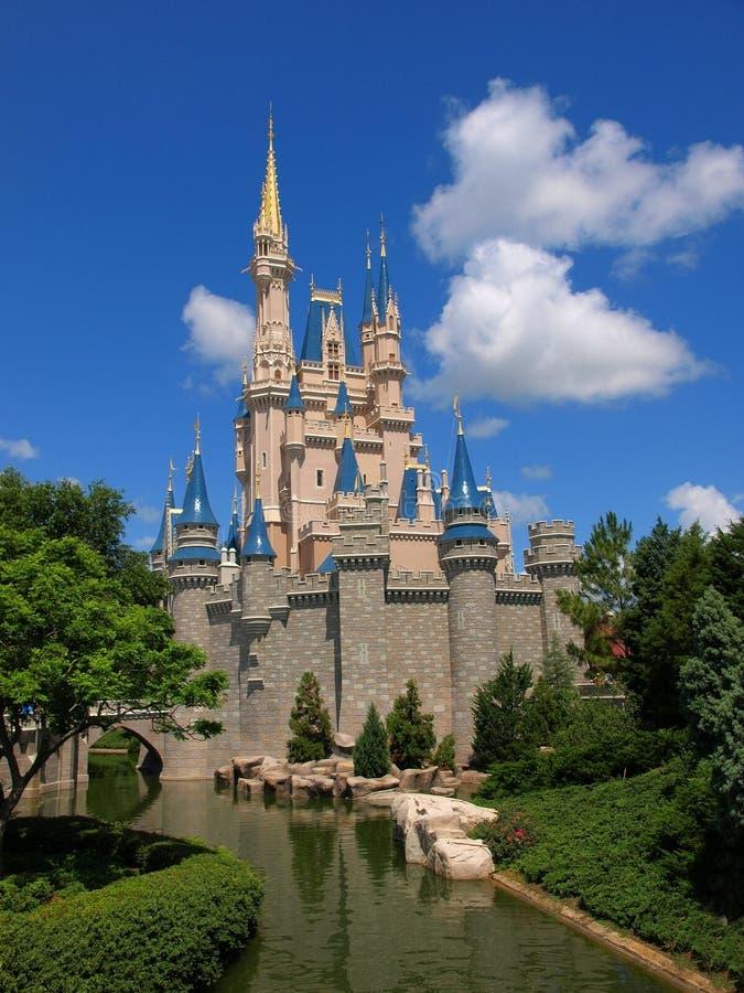 Мир Уолт Дисней замка Дисней стоковые фото