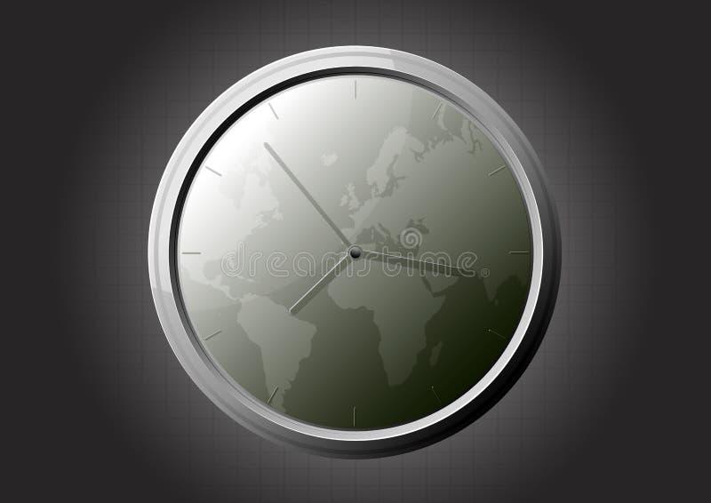 мир часов иллюстрация вектора