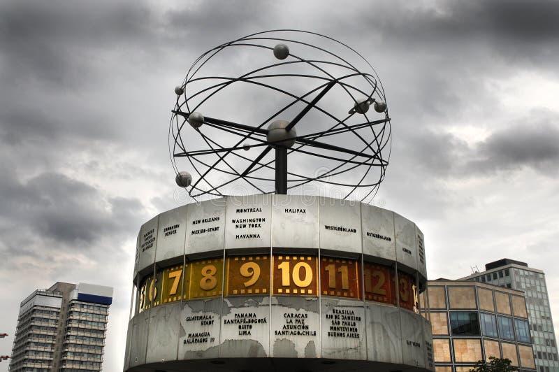 мир часов berlin стоковая фотография