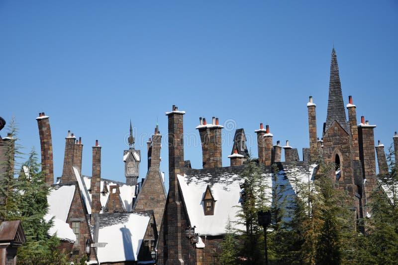 мир Юарры Поттер wizarding стоковые фотографии rf