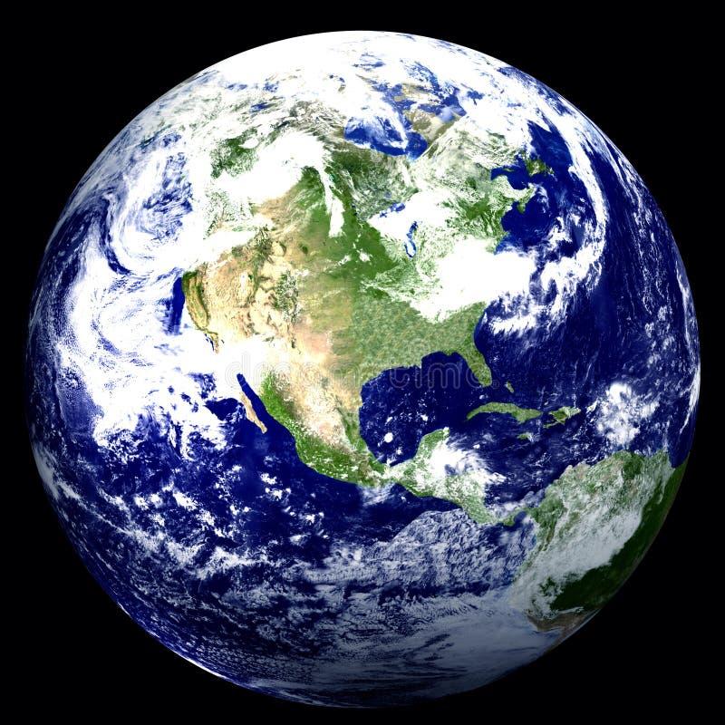 мир 3d США иллюстрация вектора