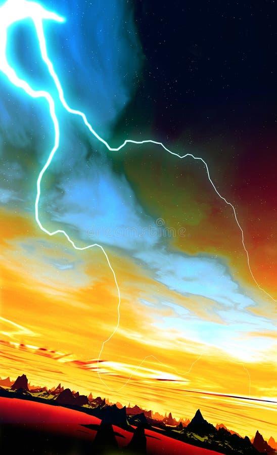 Мир 44 чужеземца стоковое изображение