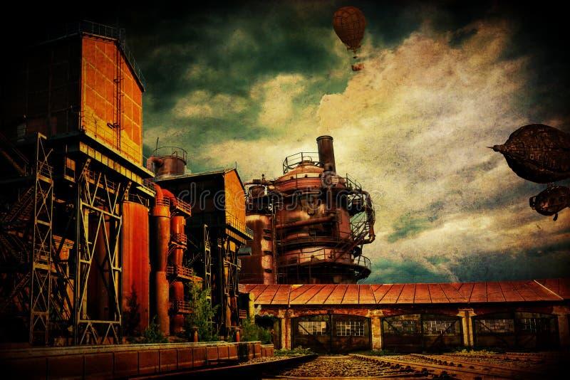 Мир SteamPunk стоковая фотография