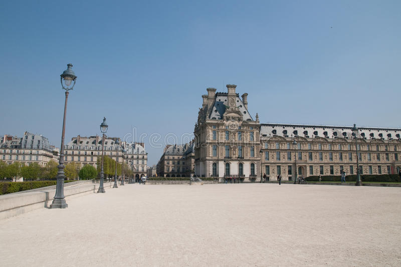 мир tuileries sitebanks перемета paris наследия сада стоковые изображения rf