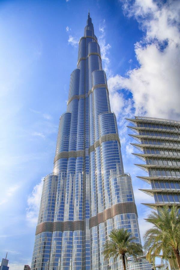 мир UAE башни khalifa Дубай burj самый высокорослый стоковые изображения