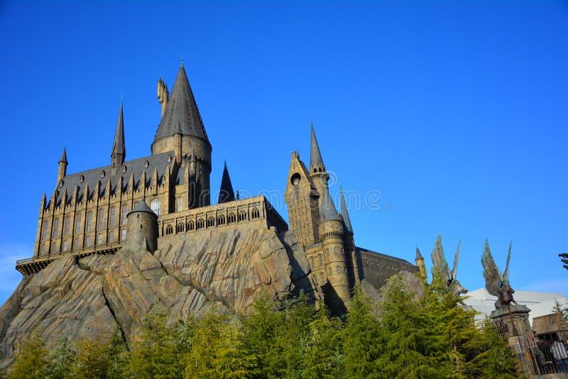 Мир Wizarding Гарри Поттера в студии Universal, Осака стоковая фотография rf