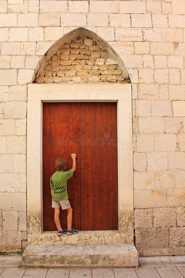 мистик двери стоковое изображение