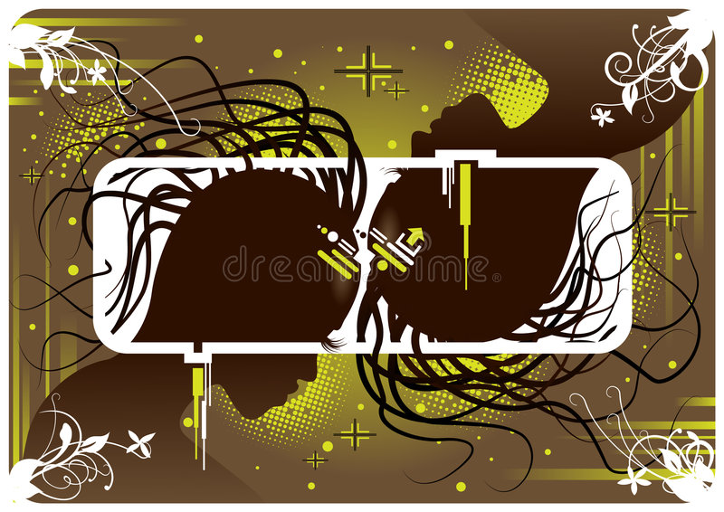 мистик соединения иллюстрация вектора