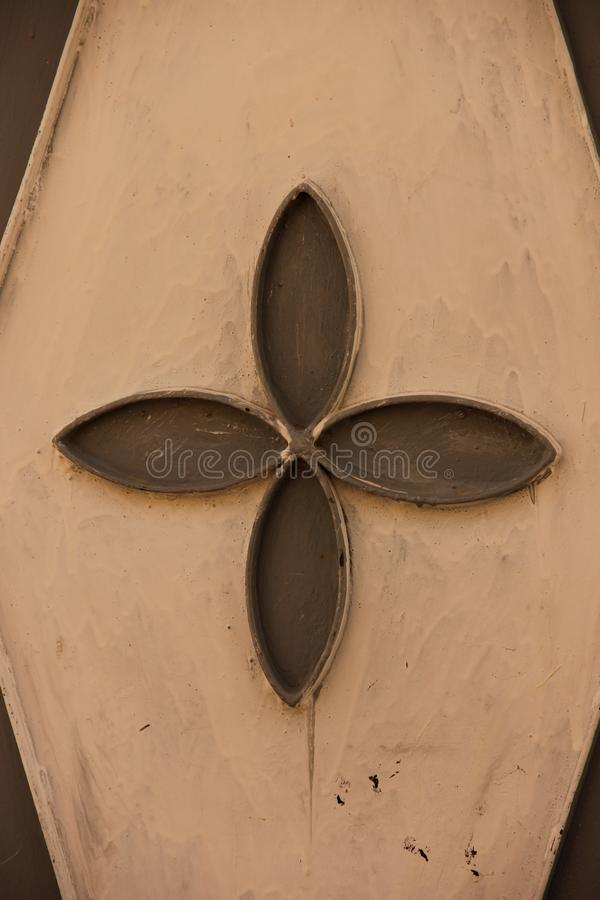 Мистическая деталь двери стоковые изображения rf