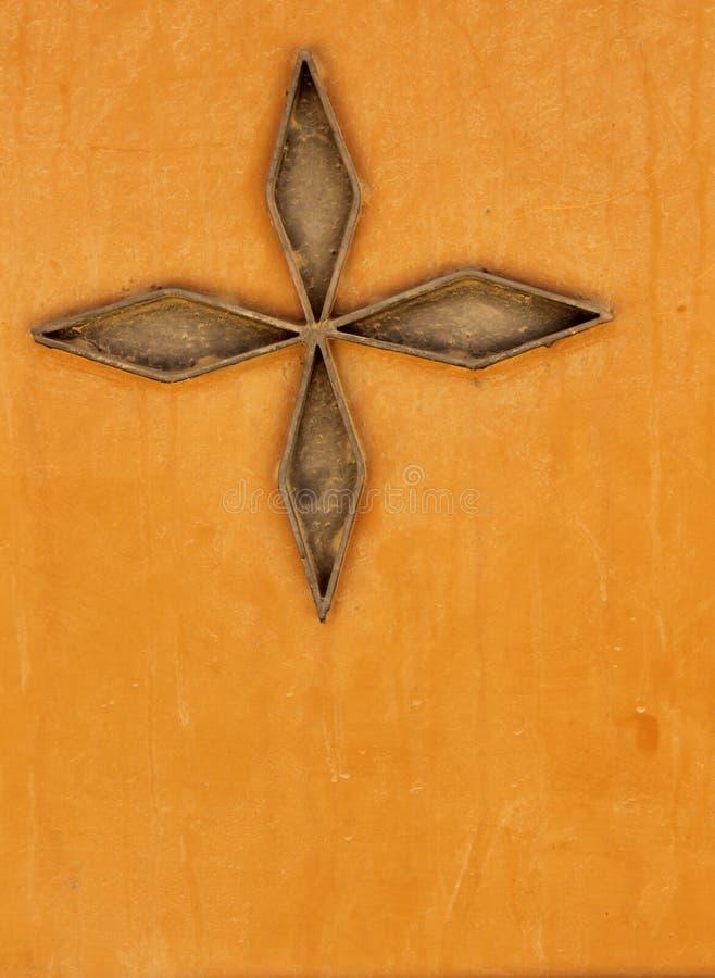 Мистическая деталь двери стоковые фотографии rf