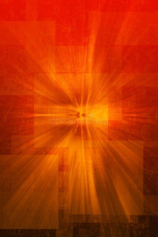 мистическая красная текстура откровения иллюстрация штока